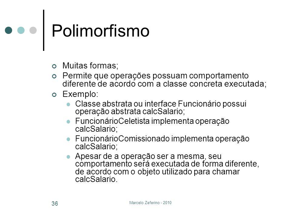 Polimorfismo Muitas formas;