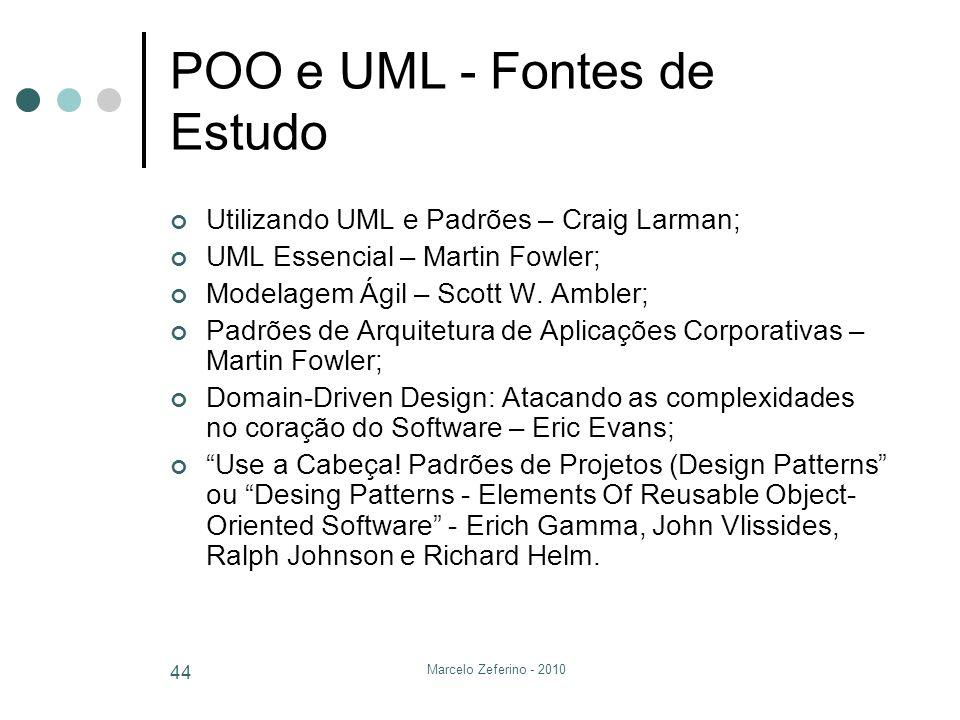 POO e UML - Fontes de Estudo