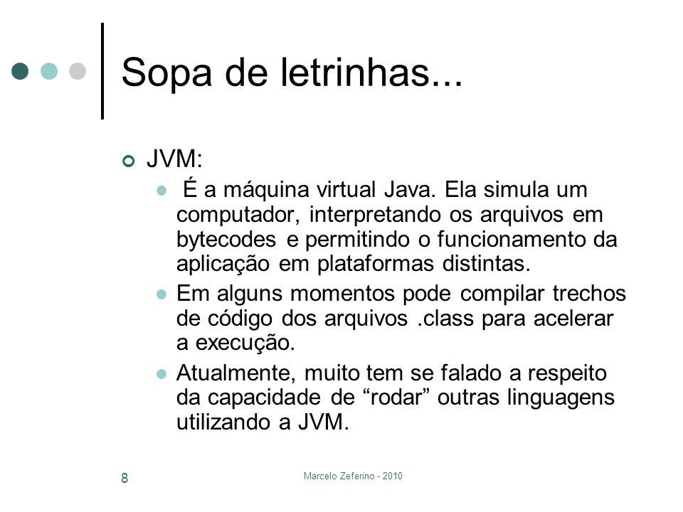 Sopa de letrinhas... JVM: