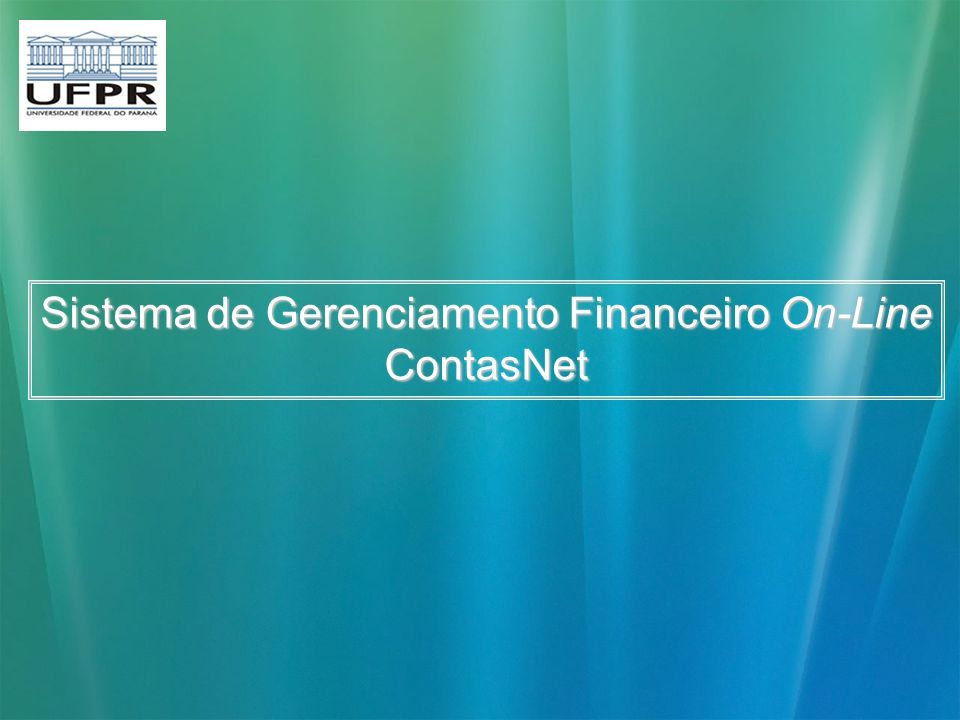 Sistema de Gerenciamento Financeiro On-Line