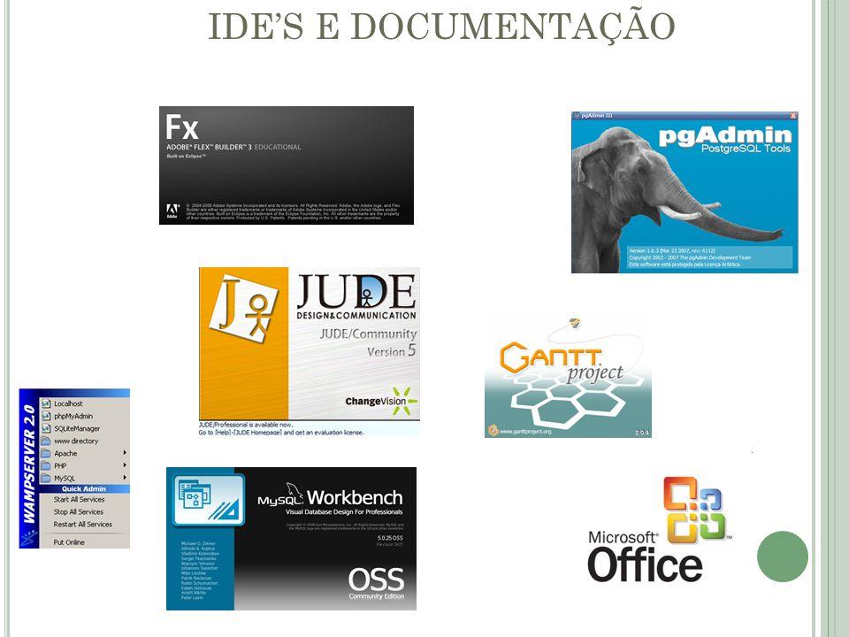 IDE'S E DOCUMENTAÇÃO