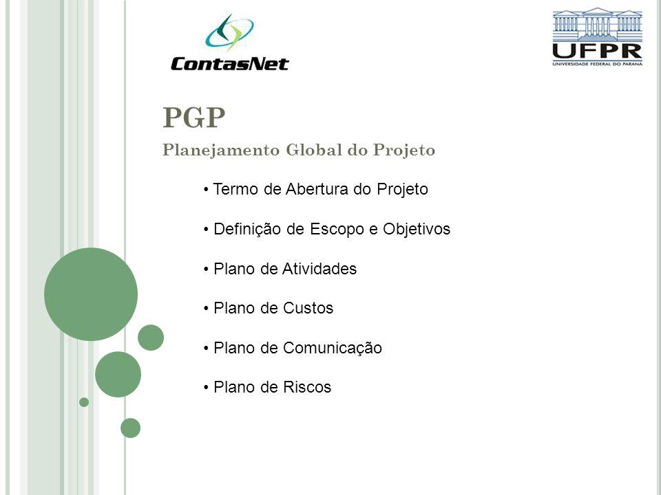 Planejamento Global do Projeto