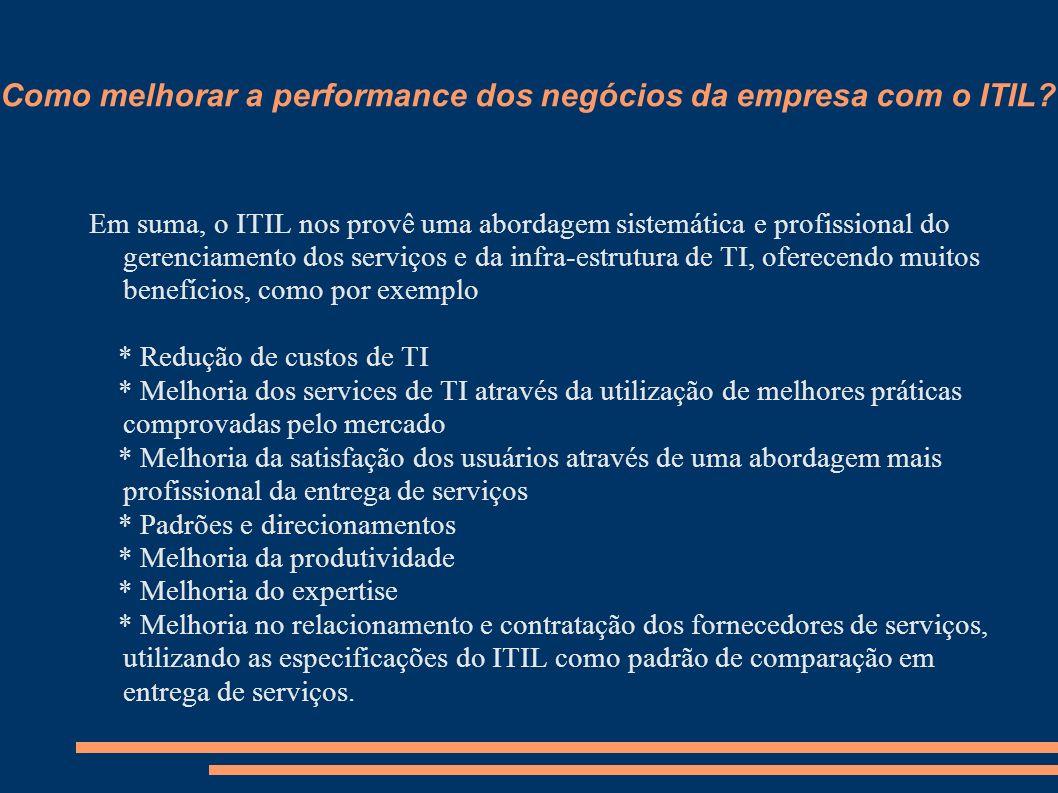 Como melhorar a performance dos negócios da empresa com o ITIL