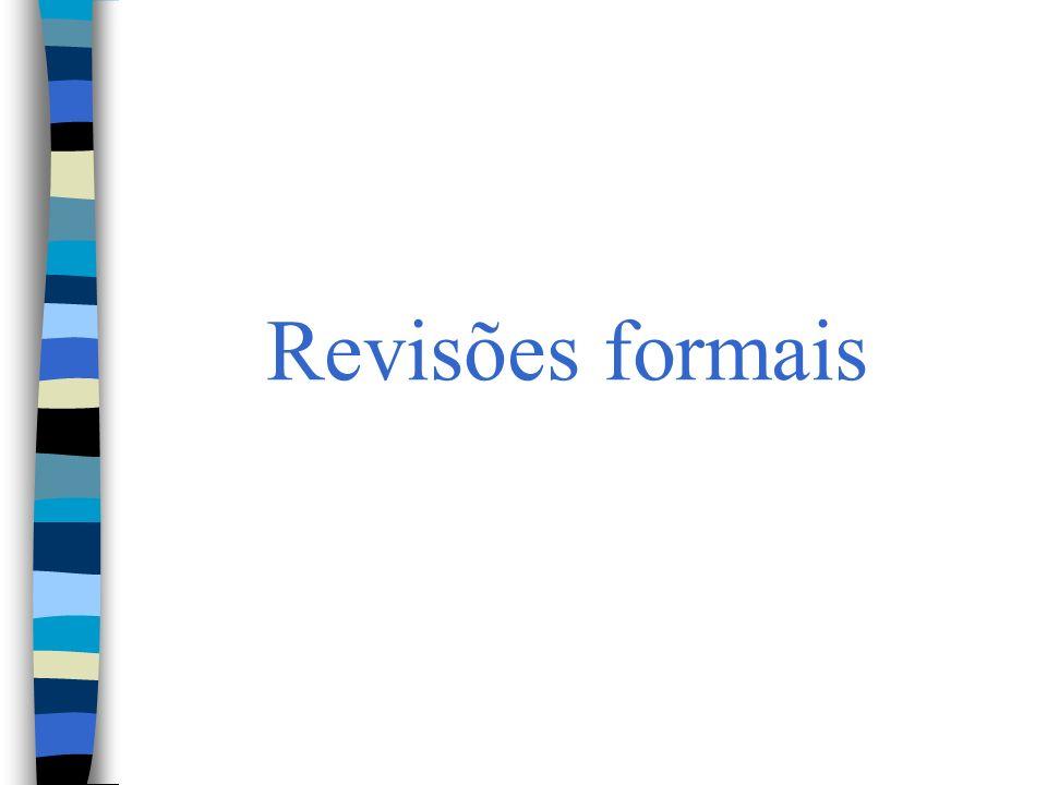 Revisões formais
