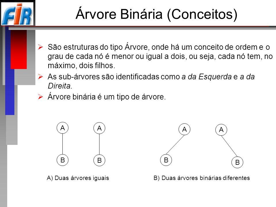 Árvore Binária (Conceitos)