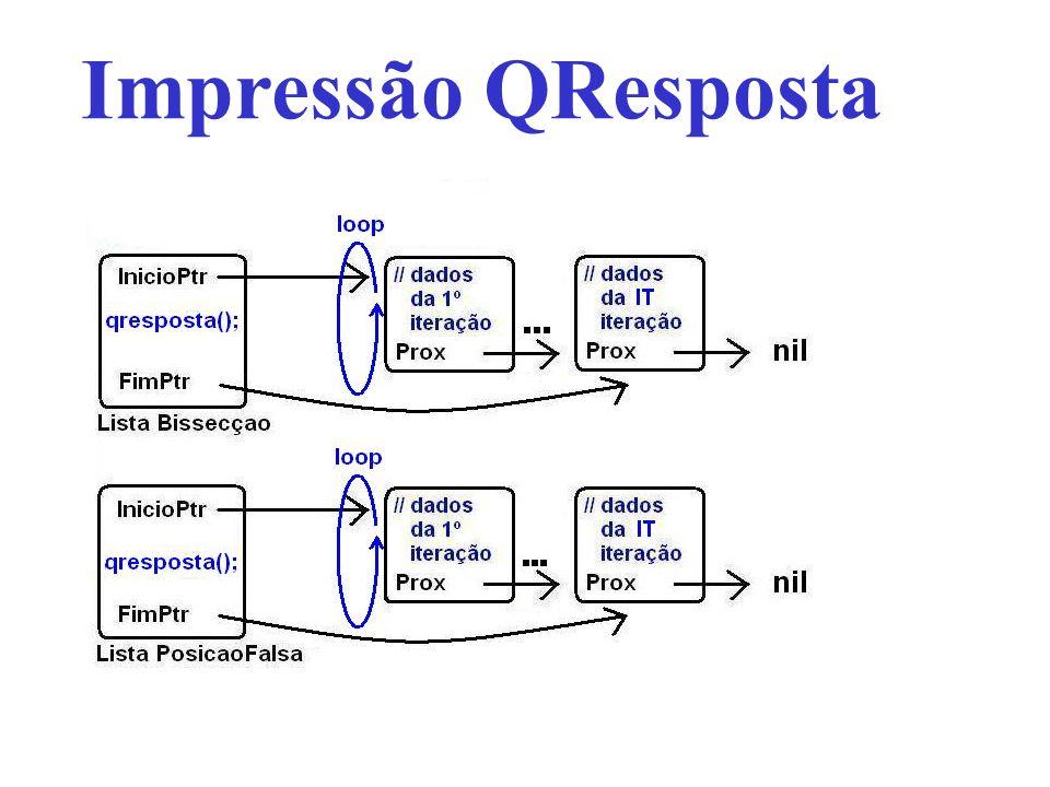 Impressão QResposta