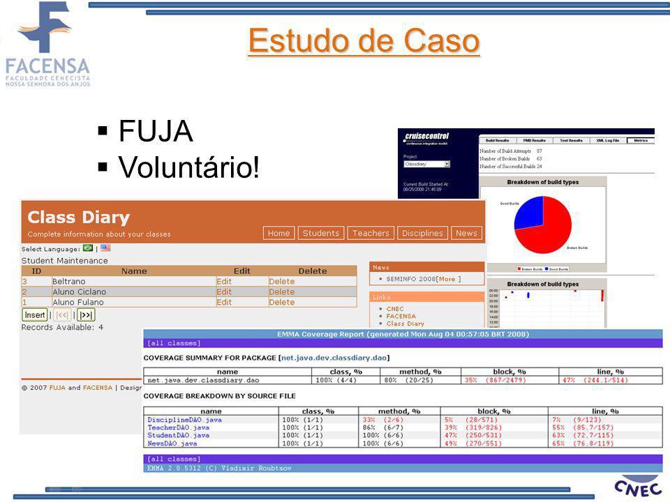 Estudo de Caso FUJA Voluntário!