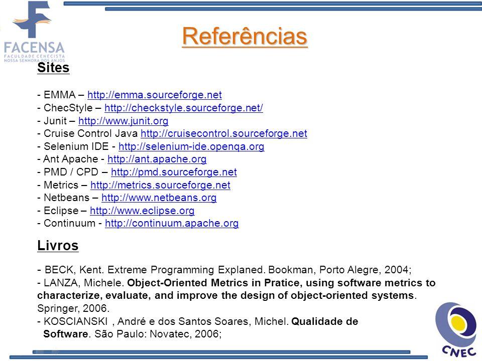 Referências Sites Livros