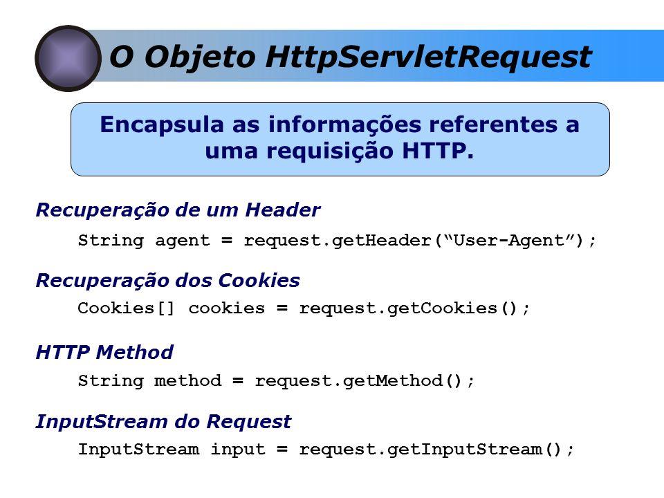 Encapsula as informações referentes a uma requisição HTTP.