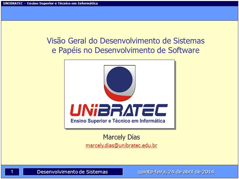 Visão Geral do Desenvolvimento de Sistemas e Papéis no Desenvolvimento de Software