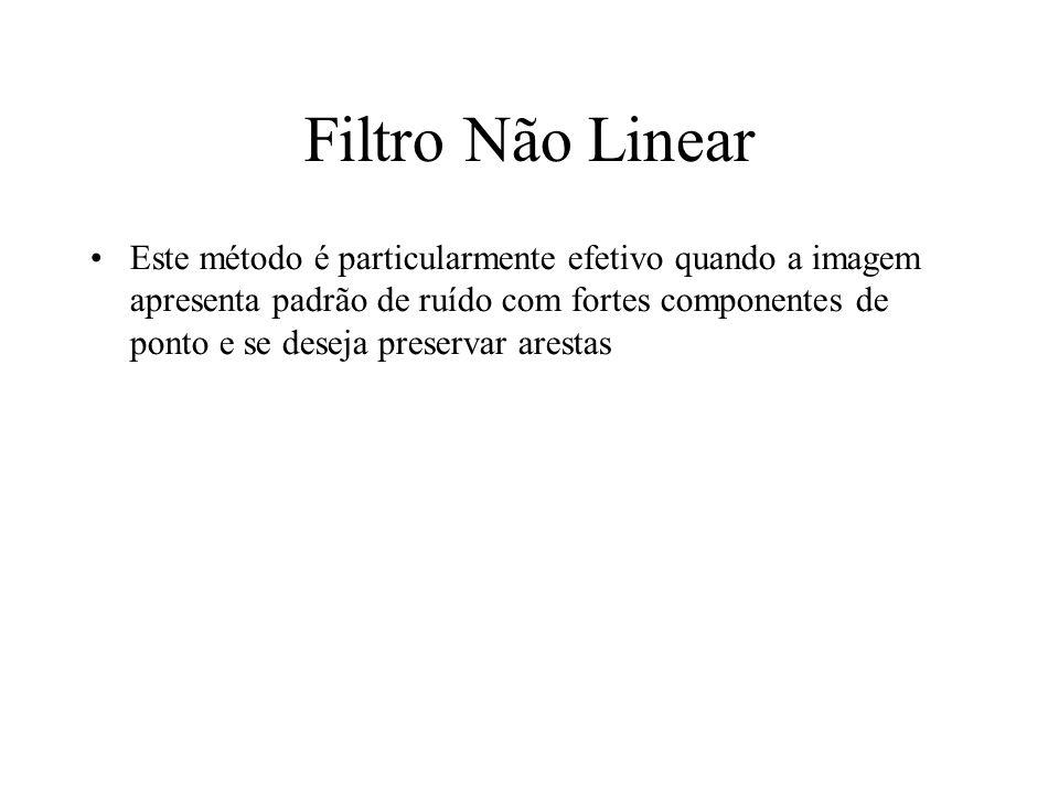 Filtro Não Linear