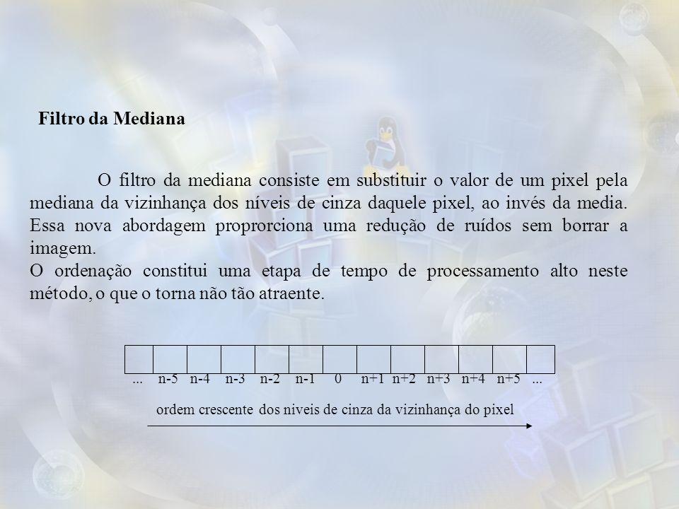 Filtro da Mediana
