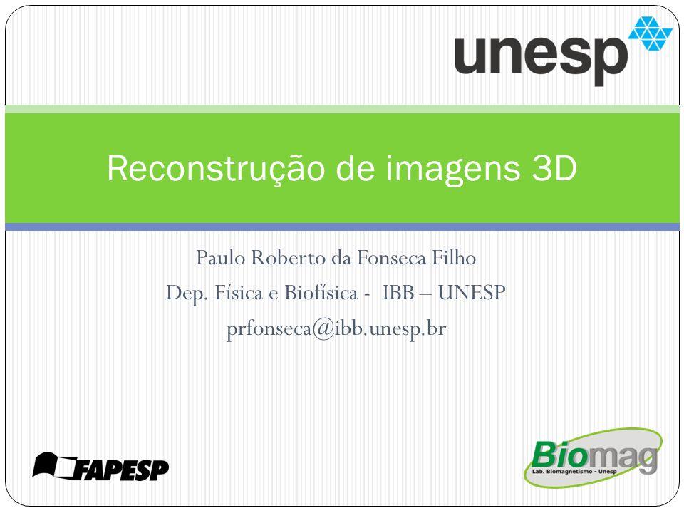 Reconstrução de imagens 3D