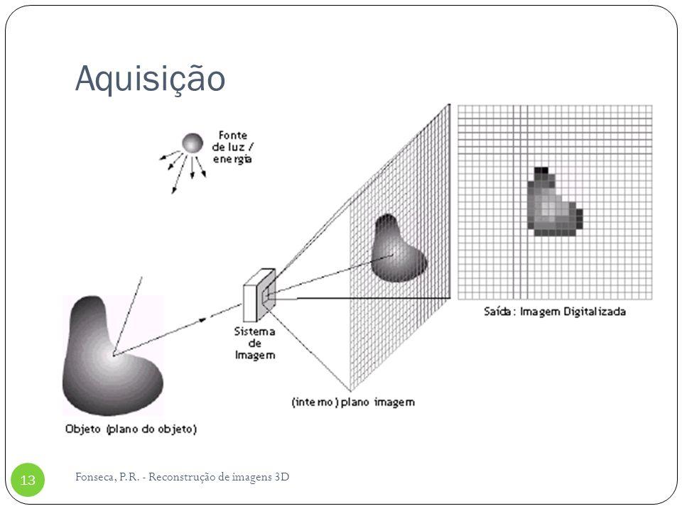 Aquisição Fonseca, P.R. - Reconstrução de imagens 3D