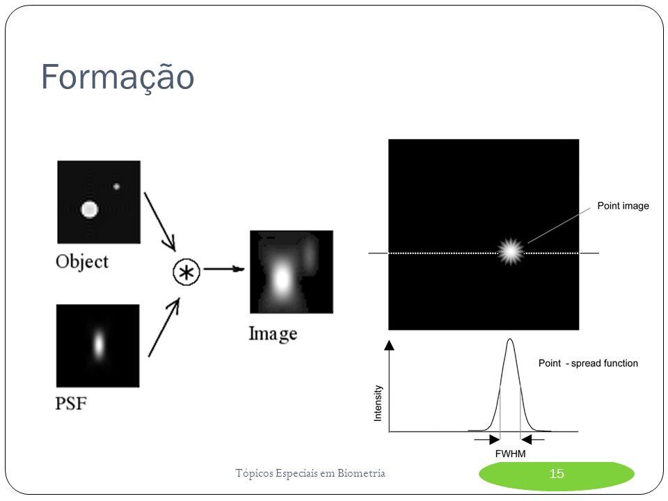 Formação Tópicos Especiais em Biometria