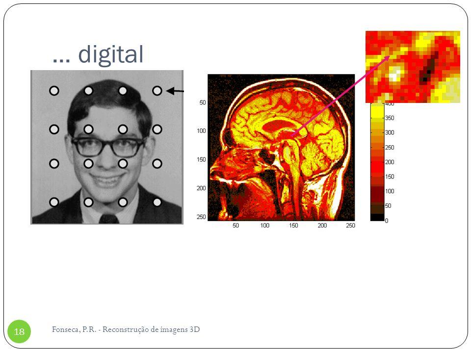 ... digital Fonseca, P.R. - Reconstrução de imagens 3D