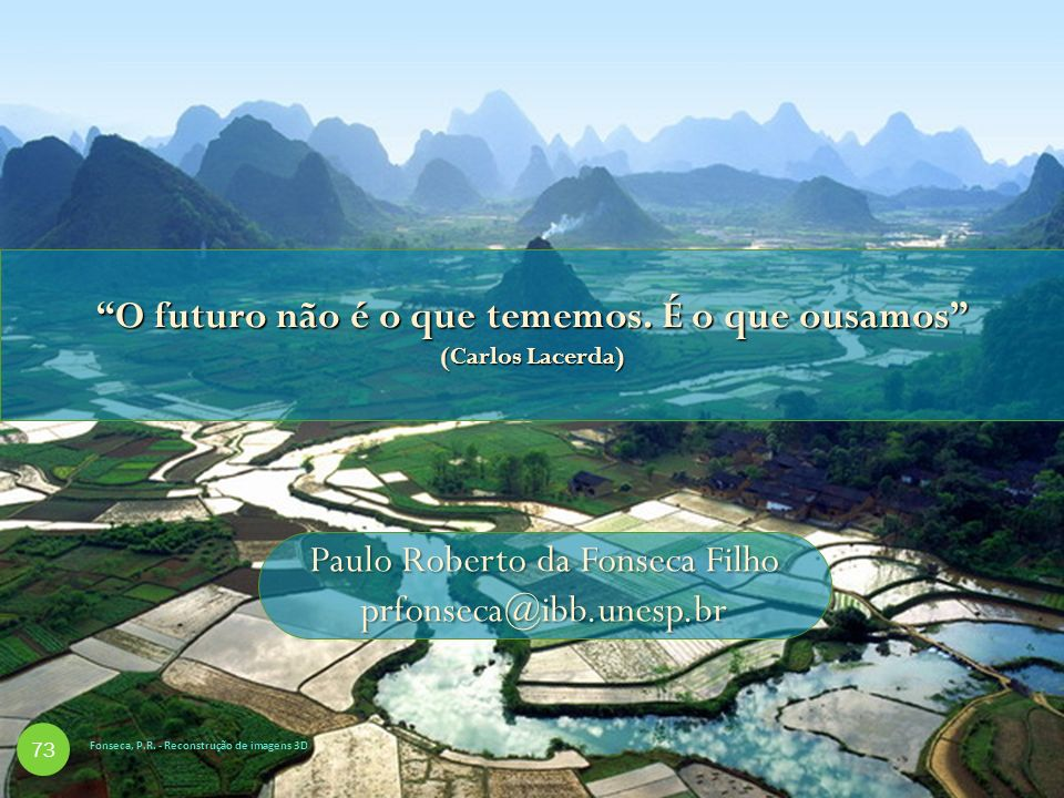 O futuro não é o que tememos. É o que ousamos (Carlos Lacerda)