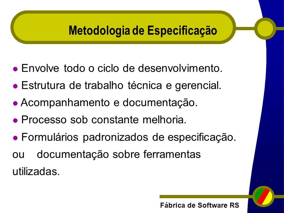 Metodologia de Especificação