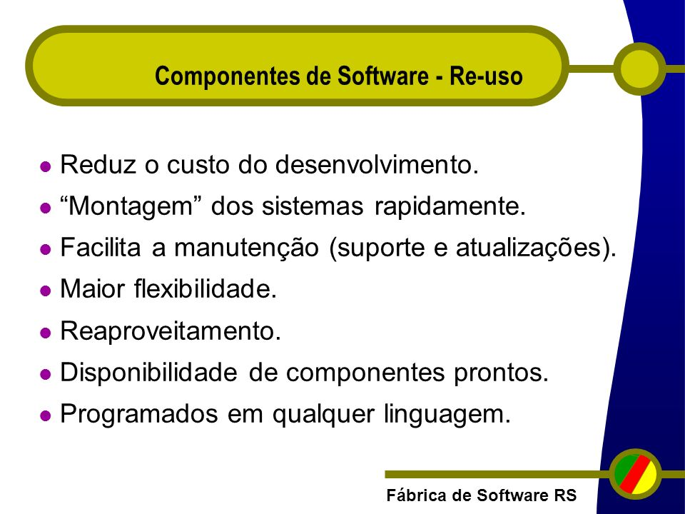 Componentes de Software - Re-uso