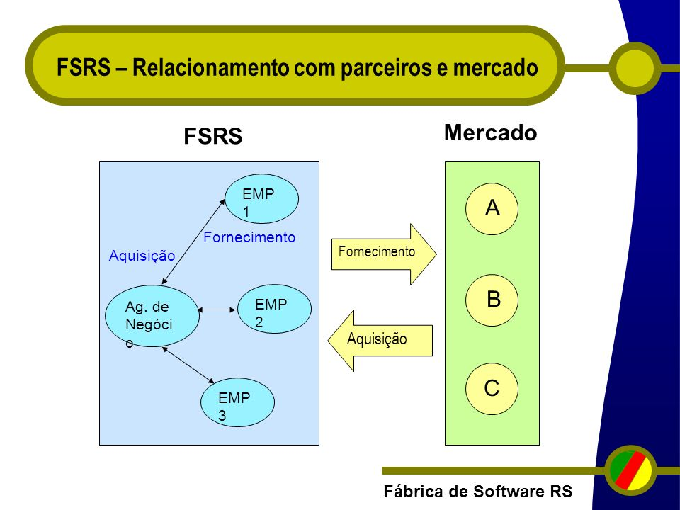 FSRS – Relacionamento com parceiros e mercado
