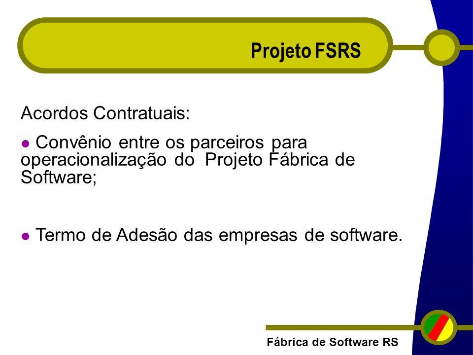Projeto FSRS Acordos Contratuais: