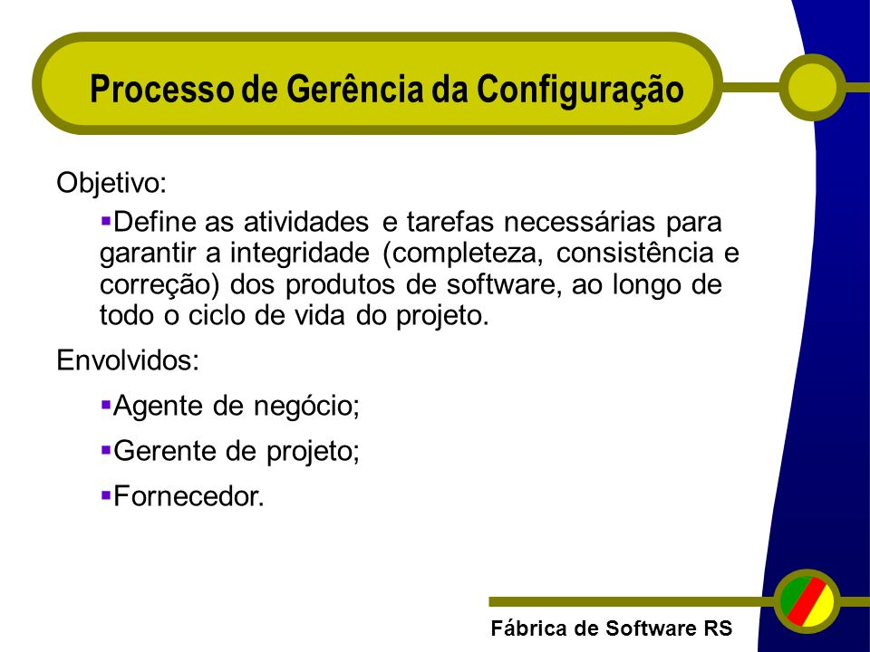 Processo de Gerência da Configuração