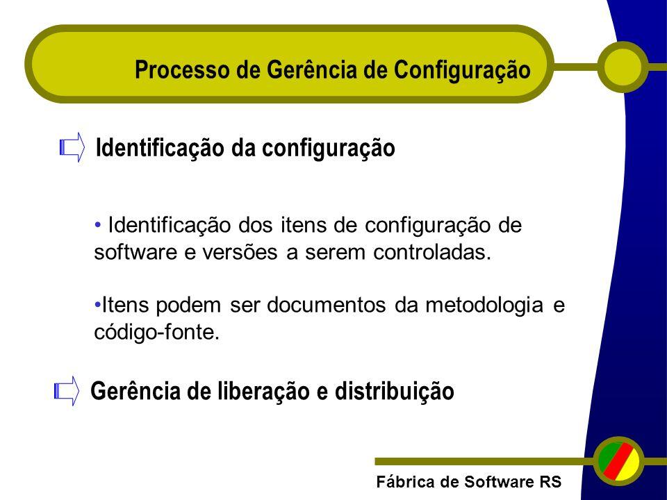 Processo de Gerência de Configuração