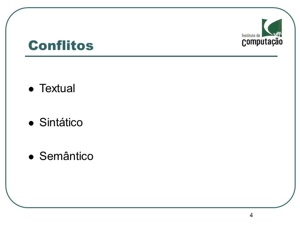 Conflitos Textual Sintático Semântico 4 4