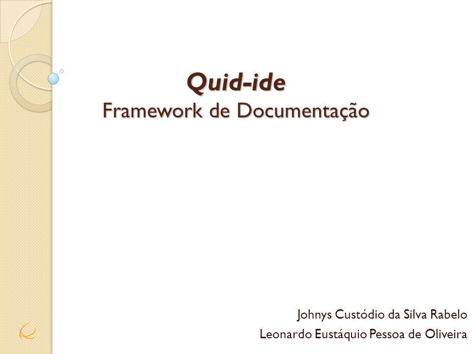 Quid-ide Framework de Documentação