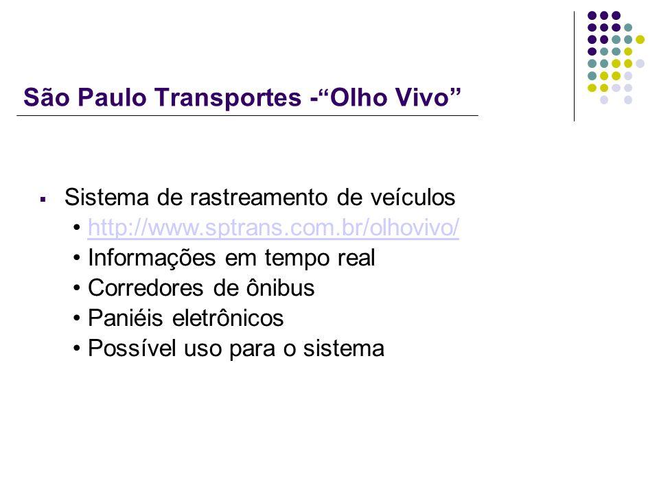 São Paulo Transportes - Olho Vivo