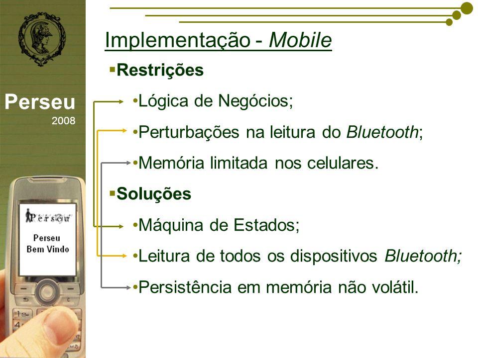 Implementação - Mobile