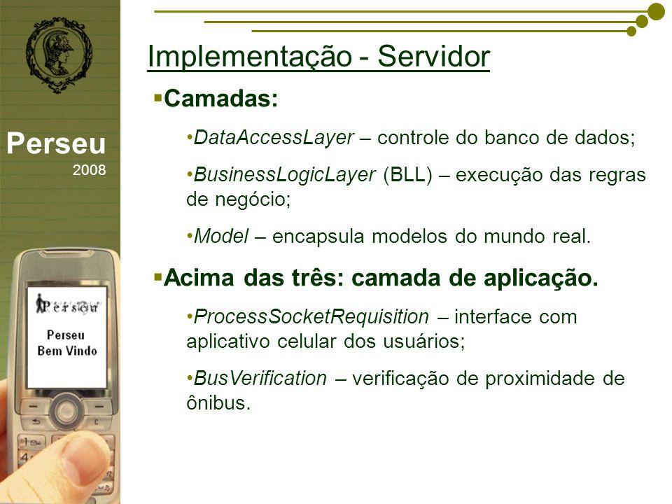 Implementação - Servidor