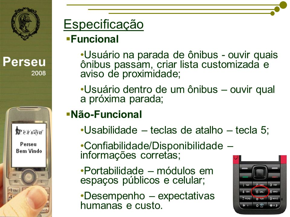 Especificação Perseu 2008 Funcional