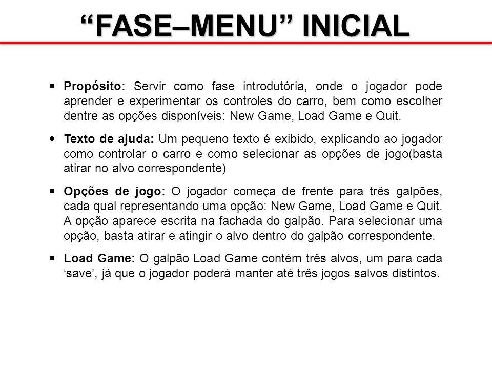 FASE–MENU INICIAL