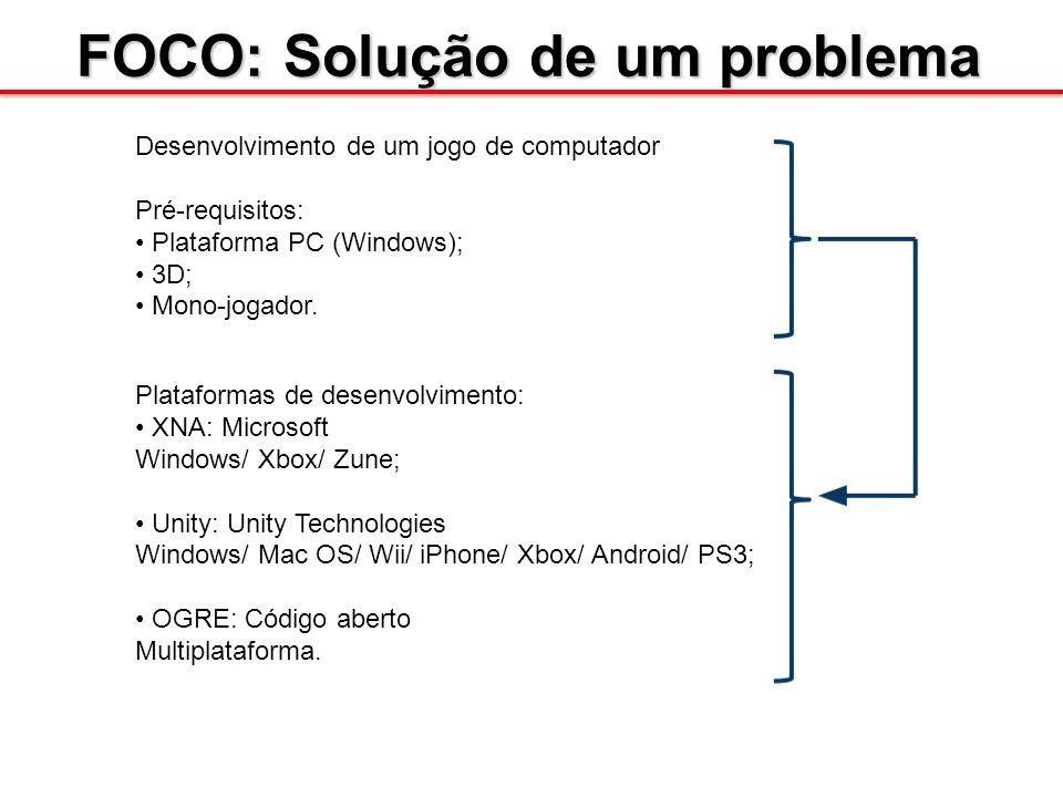 FOCO: Solução de um problema