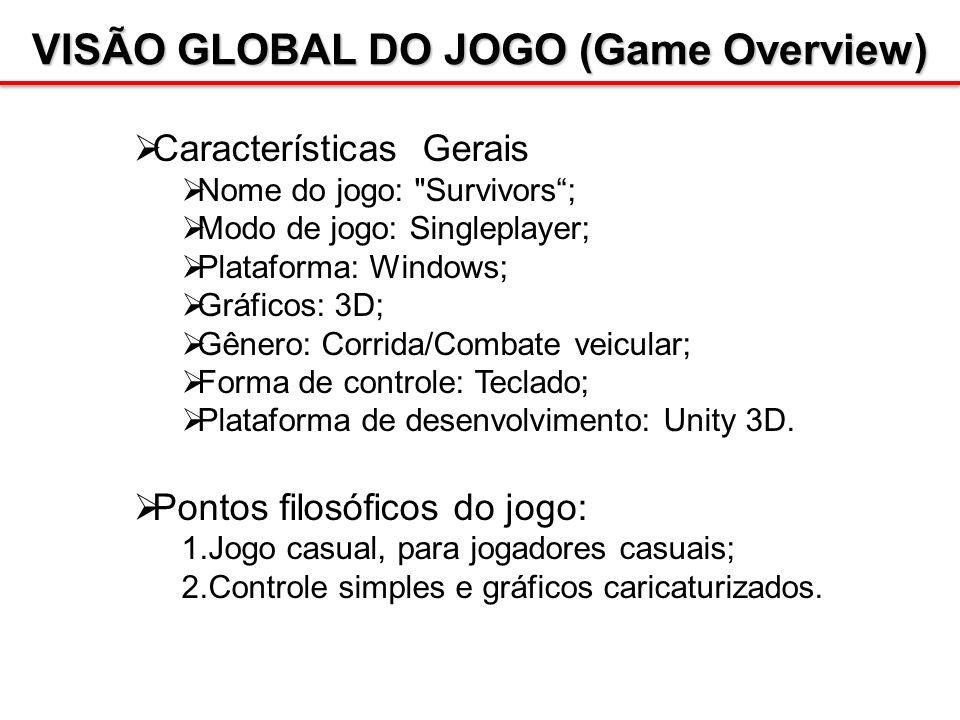 VISÃO GLOBAL DO JOGO (Game Overview)