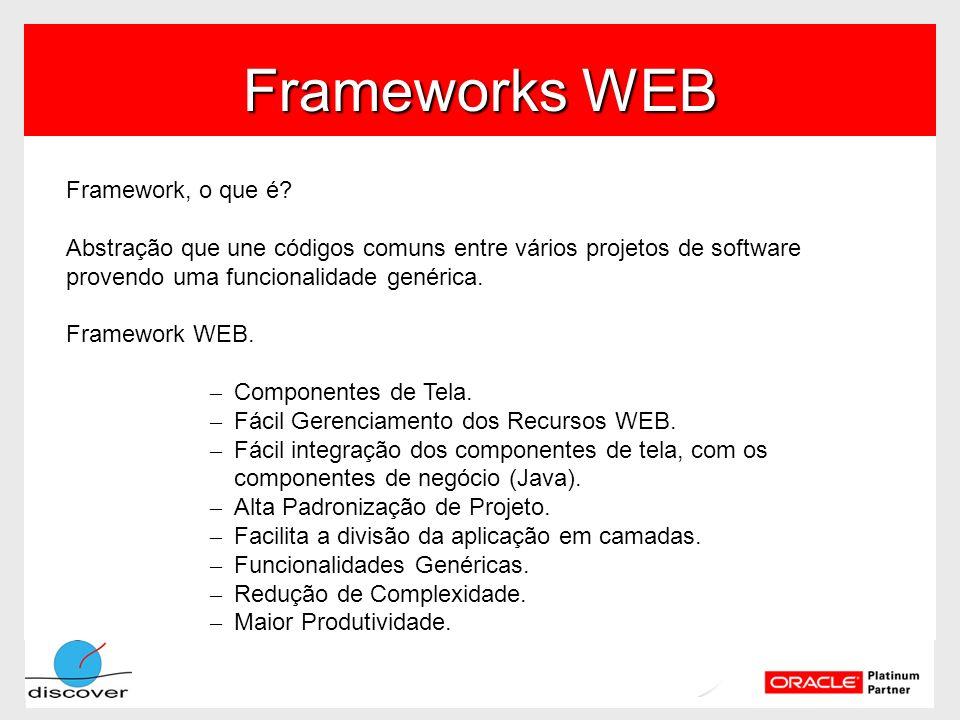 Frameworks WEB Framework, o que é