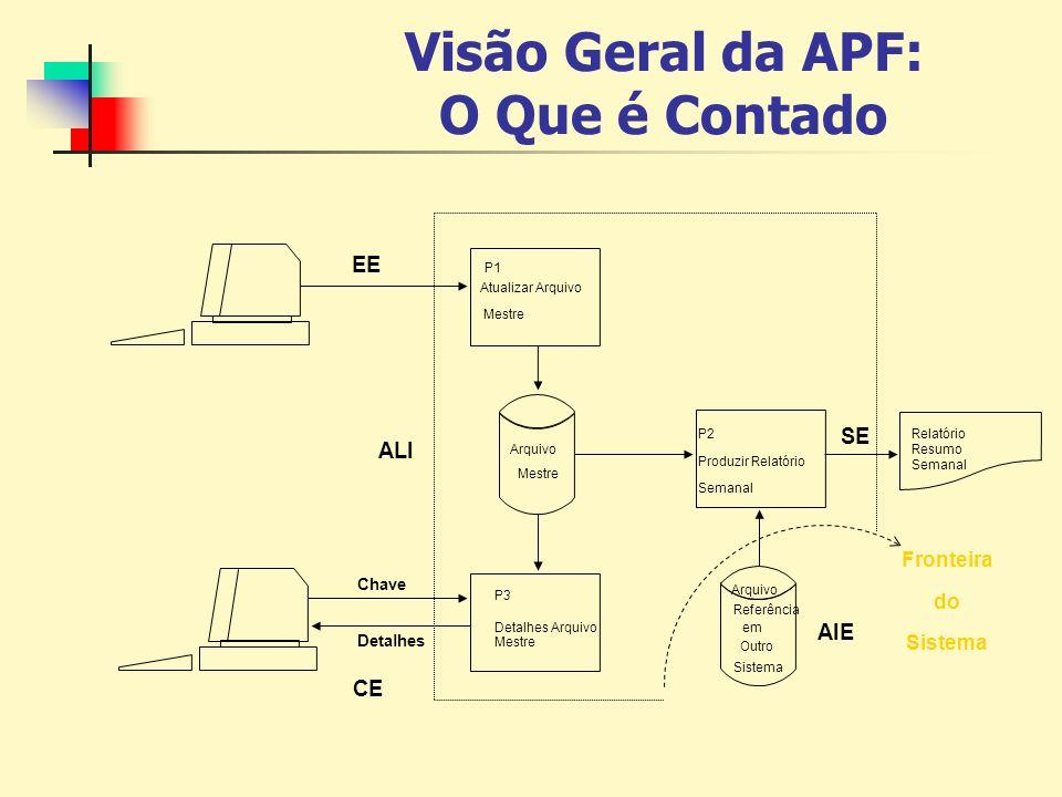 Visão Geral da APF: O Que é Contado