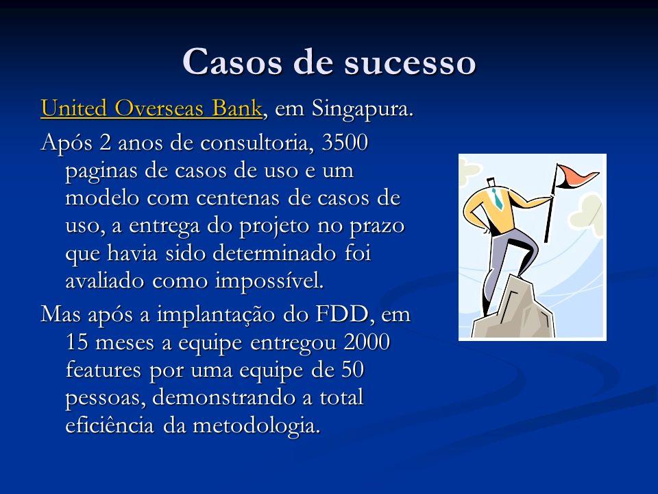 Casos de sucesso United Overseas Bank, em Singapura.