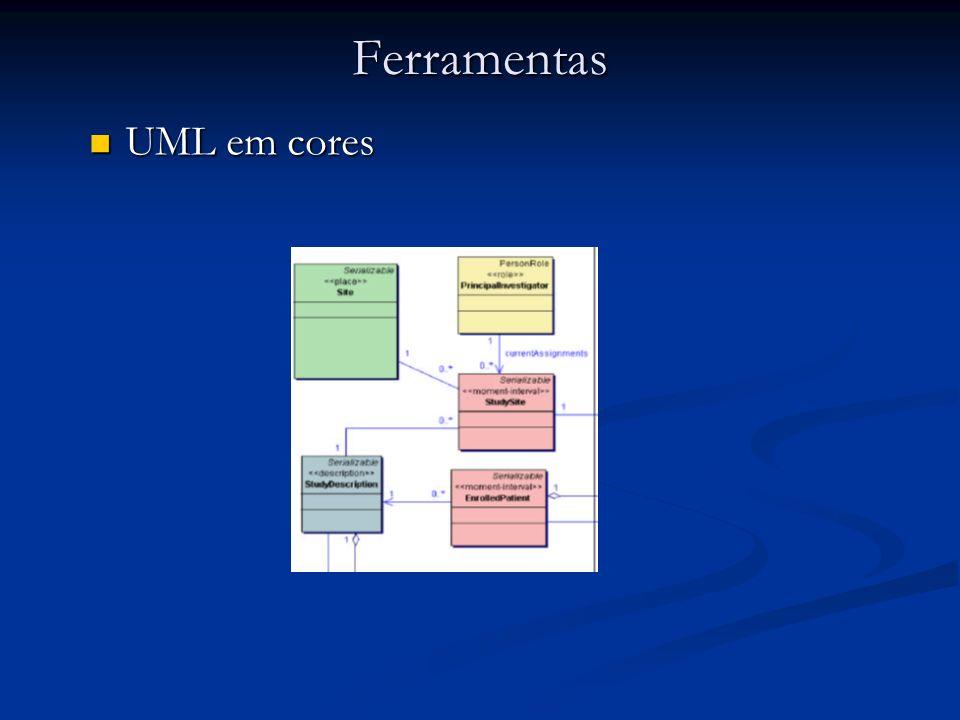 Ferramentas UML em cores