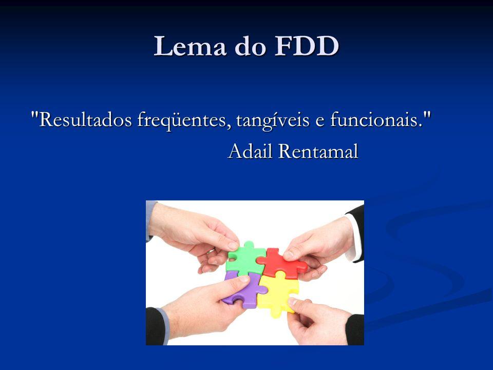Lema do FDD Resultados freqüentes, tangíveis e funcionais.