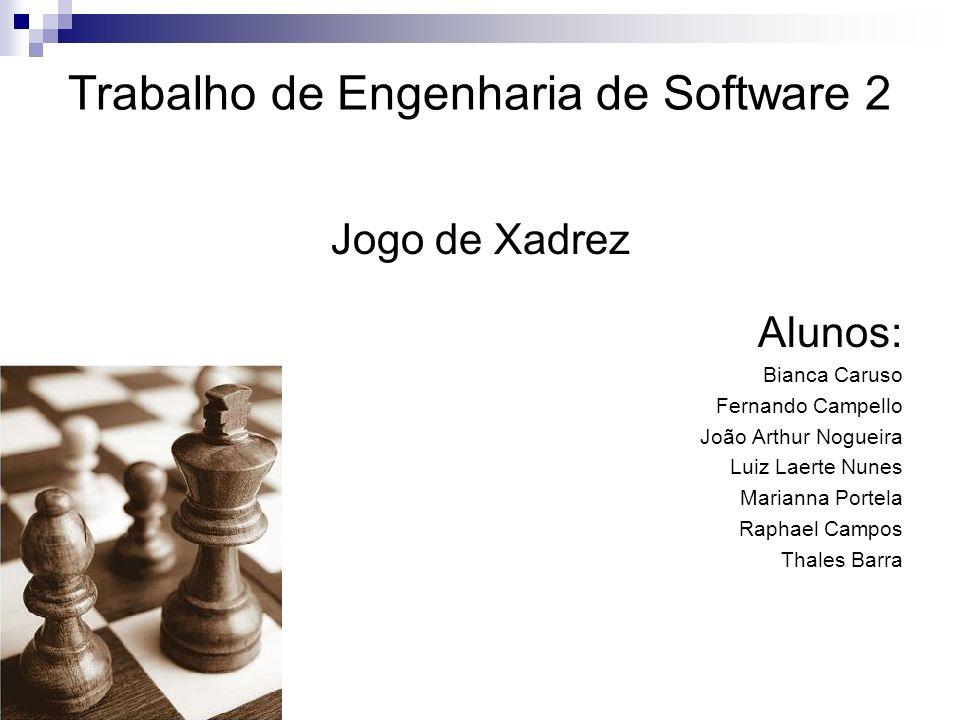 Trabalho de Engenharia de Software 2