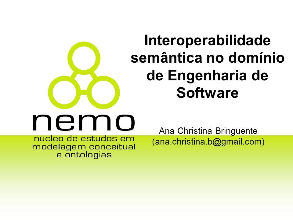 Interoperabilidade semântica no domínio de Engenharia de Software