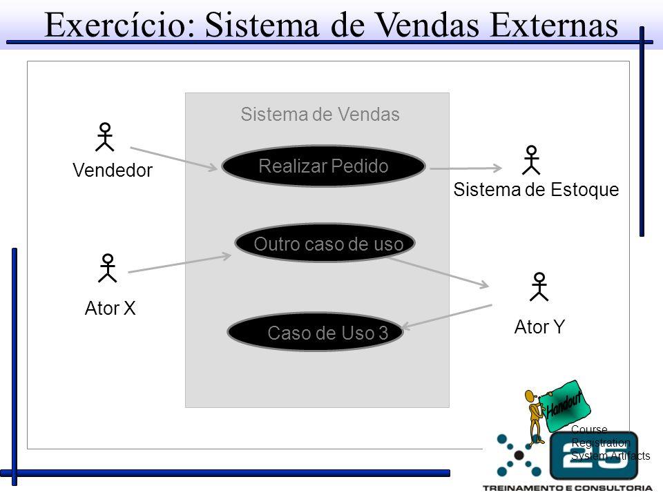 Exercício: Sistema de Vendas Externas
