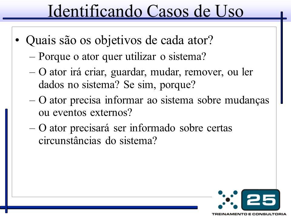 Identificando Casos de Uso
