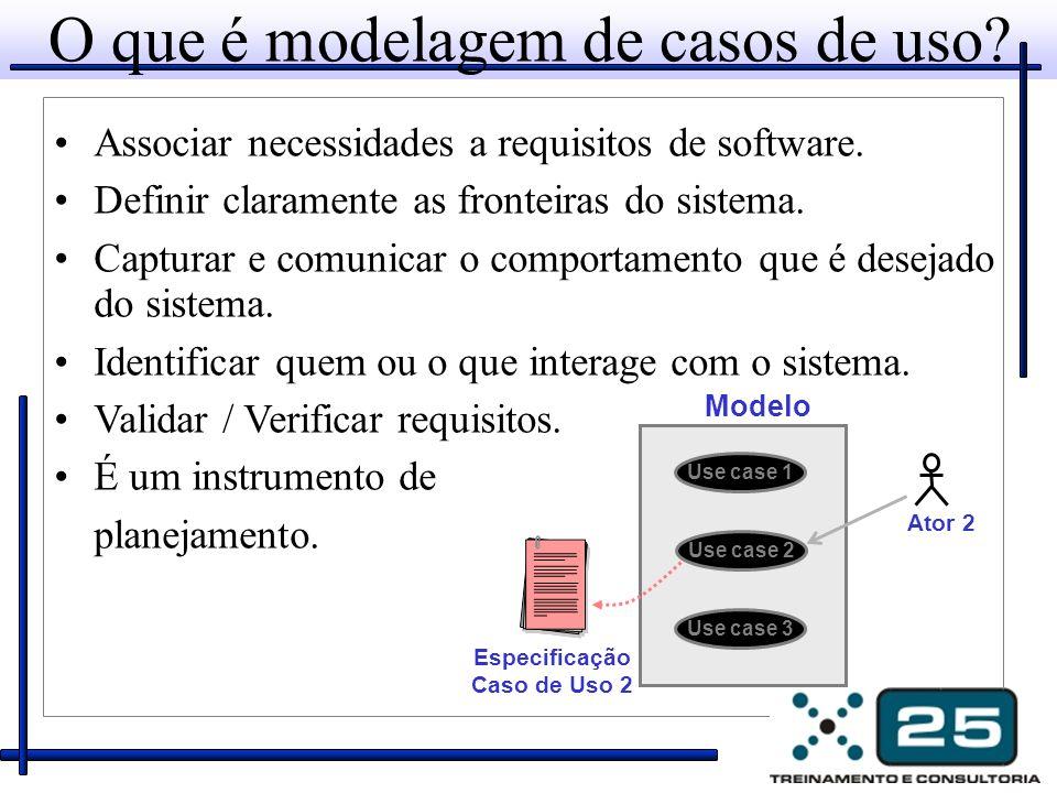 O que é modelagem de casos de uso