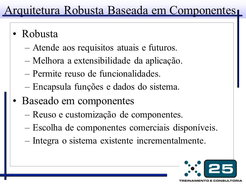 Arquitetura Robusta Baseada em Componentes