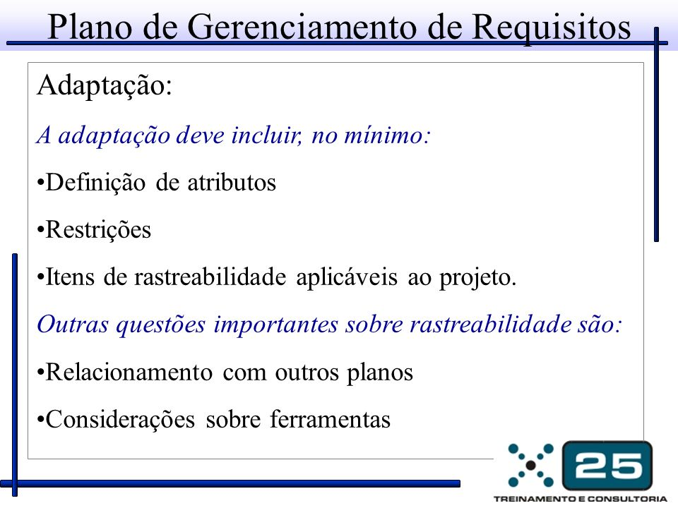 Plano de Gerenciamento de Requisitos