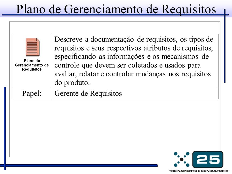 Plano de Gerenciamento de Requisitos