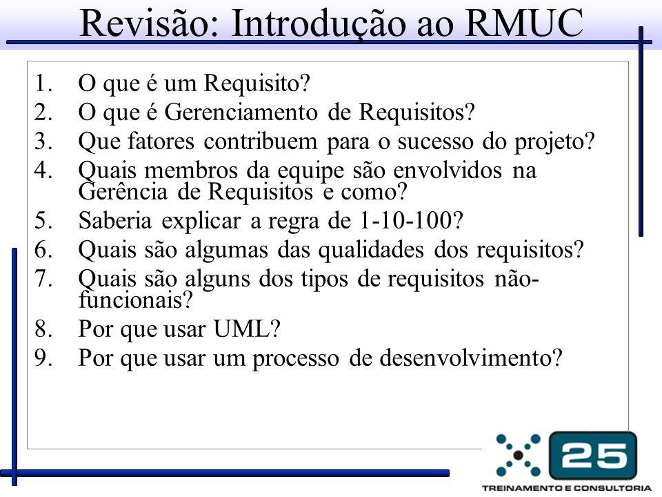 Revisão: Introdução ao RMUC
